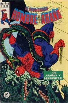 Cover for El Asombroso Hombre Araña (Novedades, 1980 series) #248