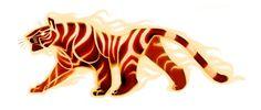 Fire Tiger Again by TastesLikeAnya