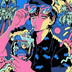 rooyklam - 0 results for illustrations Aesthetic Art, Aesthetic Anime, Character Inspiration, Character Art, Art Sketches, Art Drawings, Arte Dope, Arte Peculiar, Me Anime