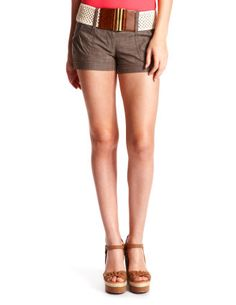 Crochet-Belt CrossDye Short- Charlotte Russe