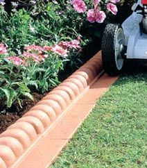 mow curb - Might come in handy if we have a lawn next to a flower bed.