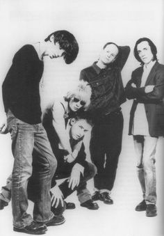 A very young Radiohead