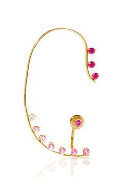 Pink Sapphire Dots Earring by Delfina Delettrez for Preorder on Moda Operandi