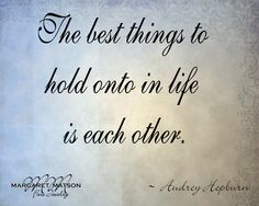 The best thing...