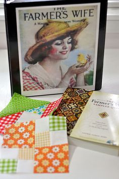 the Farmers Wife Sampler Quilt - Quilt Along by Pleasant Home, via Flickr