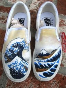 dd56eccd814e Vans I did for my Sensei I ve always thought this was just the coolest  image.
