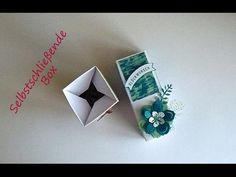 Selbstschließende Box mit Produkten von Stampin Up - YouTube