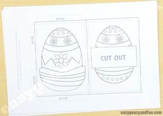 Hidden Message Easter Card - Easy Peasy and Fun
