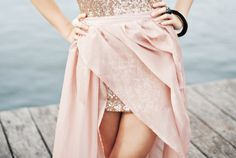 Love these tones! Sequins give it a bit of kick.