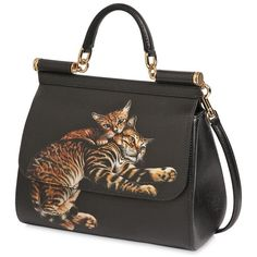 Colorful Calico Cat Handbag Purse S Liked On Polyvore Featuring Bags Handbags Multicolor And