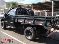 F250 XLT Preta 2008 - FORD - Campo Grande - 674553 | SHOPCAR