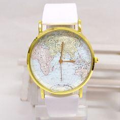 World map watch. NEED.