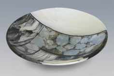 R.A. Morey Kiln Formed Glass Fused Glass - bowls - 2408 deail