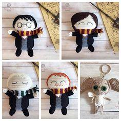 The Hogwarts Ragdoll Collection Crochet Toys Patterns, Pdf Patterns, Amigurumi Patterns, Stuffed Toys Patterns, Crochet Designs, Knitting Patterns, Knitting Ideas, Free Pattern, Hogwarts