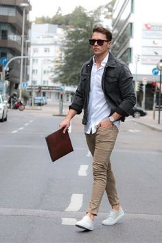 5 Ways to wear chinos .. #mens #fashion #style