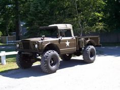 Kaiser M715 vs Dodge M37 ??? - International Full Size Jeep Association