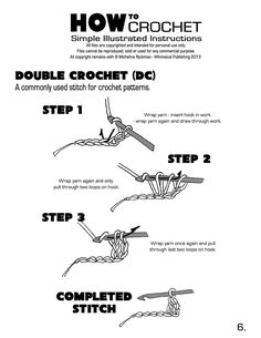 Learn how to crochet with these simple step by step instructions for beginners. I love to crochet! Crochet stitches are larger than knit stitches which means your projects can go quite quickly. Onc...