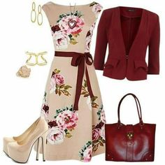 Best Ways To Style Your Outfits - Fashion Trends Mode Outfits, Dress Outfits, Fashion Dresses, Fashion Clothes, Classy Outfits, Casual Outfits, Elegantes Outfit, Look Chic, Work Attire