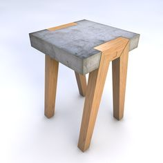 Concrete stool / side table | betonnen stoel / bijzettafel
