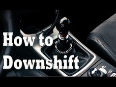 How to Heel-Toe Downshift | Advanced Manual Techniques - YouTube