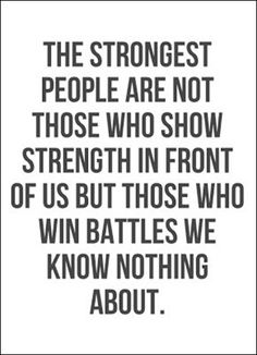 strength - love this