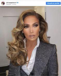 Reverse Balayage, Wedding Hair And Makeup, Hair Makeup, Jlo Makeup, Jennifer Lopez Hair Color, Jennifer Lopez Short Hair, Jennifer Lopez Makeup, Bombshell Hair, Celebrity Hair Stylist
