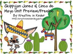 Skippyjon Jones & Cinco de Mayo Unit