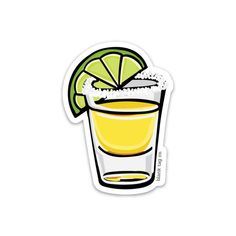 The Tequila Shot With Salt Sticker — blank tag co. Homemade Stickers, Food Stickers, Diy Stickers, Printable Stickers, Best Tequila, Tequila Shots, Beer Pong Tables, Tumblr Stickers, Waterproof Stickers
