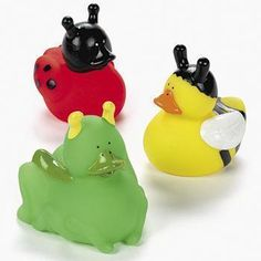 Insect Rubber Ducks for punch?