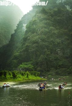 Trang An, Vietnam. Tràng An is a scenic area near Ninh Bình, Vietnam, and is renowned for its boat cave tours. (V)