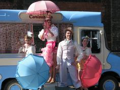 Mr Wippy and the Conettes is a piece of mobile, musical theatre based in an antique ice cream van. Stoke On Trent, Musical Theatre, Baby Strollers, Icecream, Children, Wednesday, Museum, Meet, Events