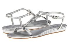 Nine West TikiHut Silver/Silver Synthetic - Zappos.com Free Shipping BOTH Ways