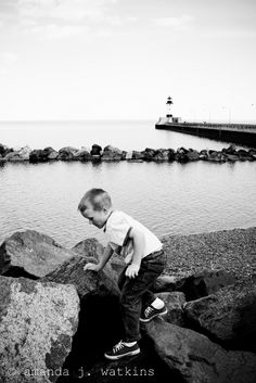 Canal Park, Duluth, MN. Lake Superior. Explored all my life, sharing with the kids too.
