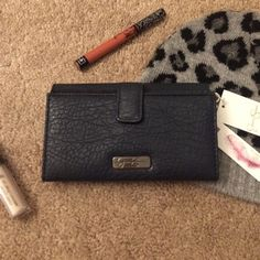 """Jessica Simpson Hudson Navy Wallet NWT navy blue wallet by Jessica Simpson. Open to offers! 7""""x4""""X1.5"""" Jessica Simpson Bags Wallets"""