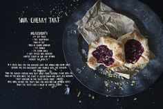 Spring is in the air… sour cherry tart!