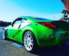 "30 Likes, 7 Comments - AJW Performance (@ajwperformance) on Instagram: ""What should we do next to the AJW 350z project car? #nismo #nissan #greenmachine #350z…"""
