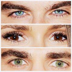 Beautiful Eyes!!!!!!!!! Ian, Nina & Paul