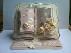 """""""Happy Birthday"""" Book Card  (Site: photo only)"""