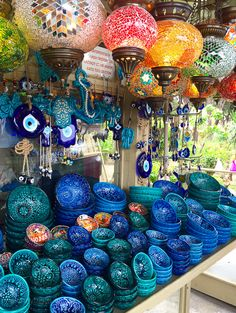 added this here because of the mix of blue and turquoise This is Turkish pottery Rhodes, Greece