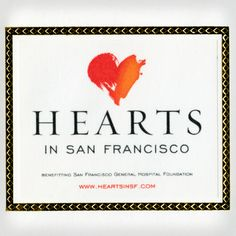 Hearts in San Francisco from Michael Osborne Design