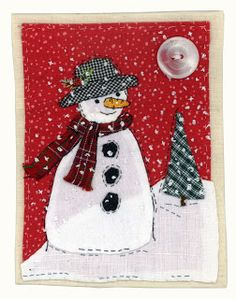 Hello, Mr.snowman....Sharon Blackman