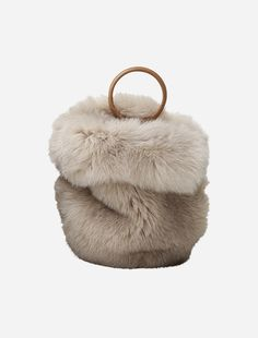 Vegan Purses, Fox Fur, Glove, Beautiful People, Satchel, Objects, Slippers, My Style, Bags