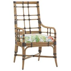 Tommy Bahama Home Twin Palms Customizable Seaview Arm Chair