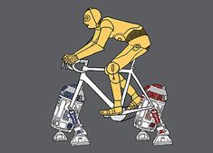 Ever wondered what superheroes would look commuting on push-bikes, just like regular everyday Joes?