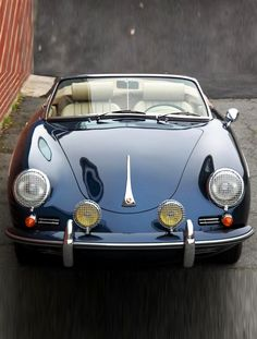 Porsche 356 B Super Roadster ___ Owner if you saw your car write in direct or comments👍😊 ___ My ta Porsche Sports Car, Porsche Cars, Retro Cars, Vintage Cars, Porsche Sportwagen, Porsche 356 Speedster, Vintage Porsche, Classy Cars, Cabriolet