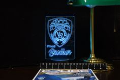 Suffolk County Police Proud Family Gift Light - Changing Color