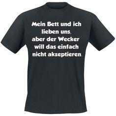 T-Shirt von Mein Bett Und Ich