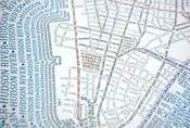 New York City Manhattan and Environs _ Typographic Map- sooo cool! Only $30