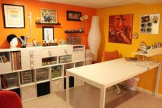 Jeanne Silverio's studio