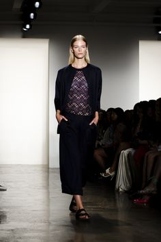 NYFW S/S 2015 | Houghton Runway Show — BASTION &CO NYC www.bastionconyc.com/thebastionconyc #nyfw #houghton #style #fashion #lifestyle